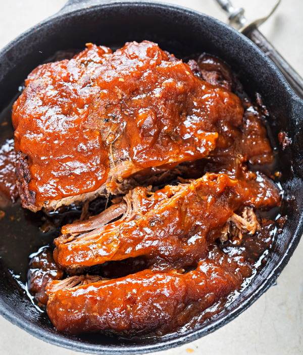 Smoked Brisket with Barbecue Sauce