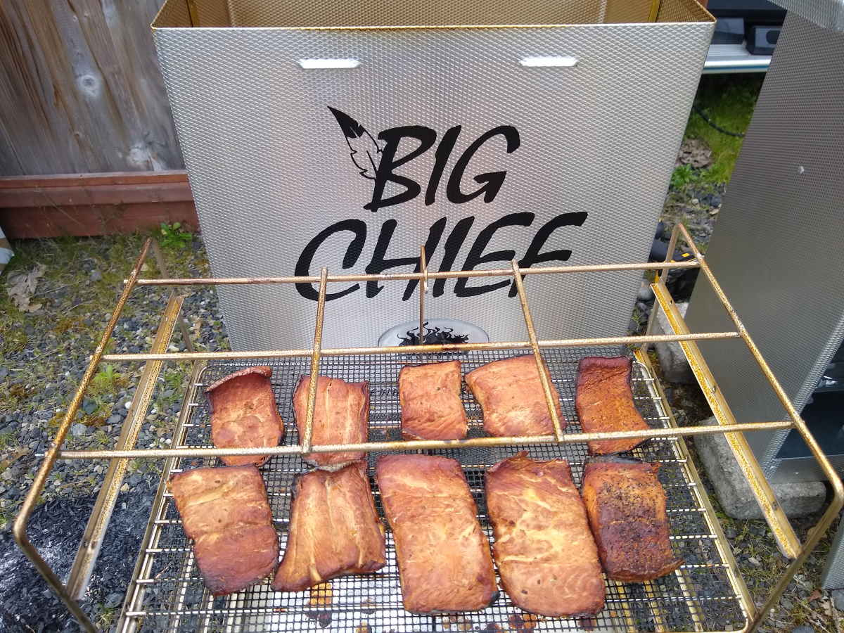 How to Smoke Trout in a Big Chief Smoker