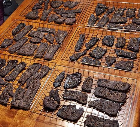 your jerky dry