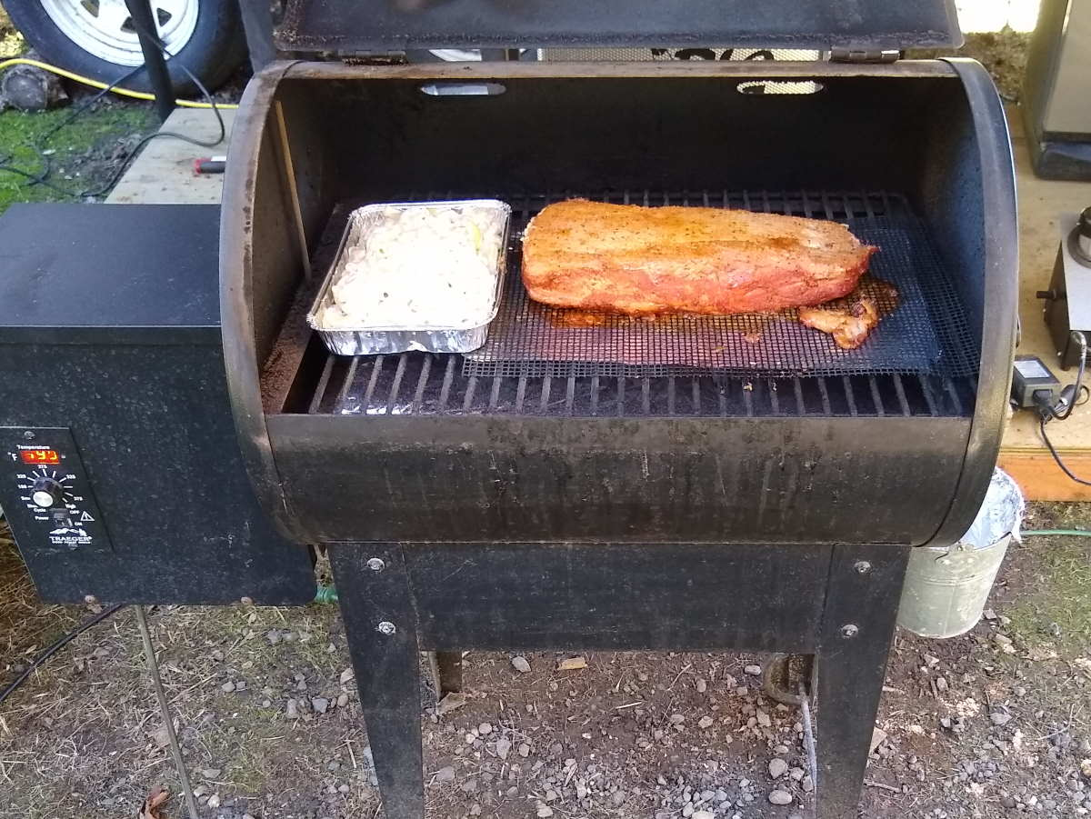 How to make a Pork Loin on a Traeger Pellet Grill