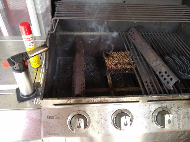 Season your Gas Grill